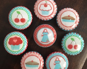 Cupcake Knobs Etsy