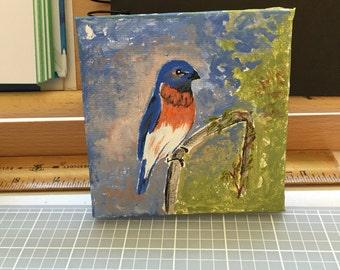 Bluebird original art