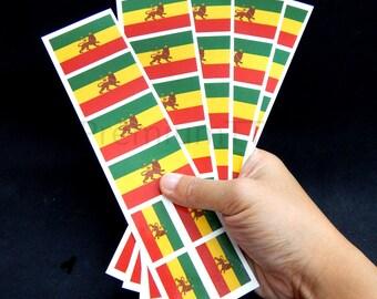 40 Tattoos: Ethiopia Flag, Ethiopian Party Favors