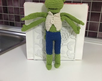 Green Mr. Philip Amigurumi