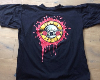 Original vintage guns n roses 1991 tour t shirt