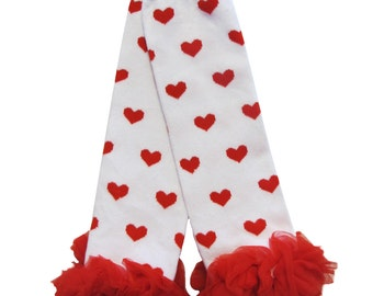 Red Heart Baby Legwarmers