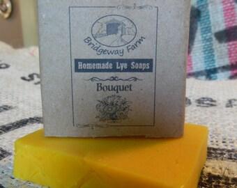 Bouquet handmade soap