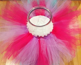goegeous, pink and purple tutu!