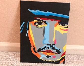 Abstract Johnny Depp