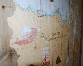 Pallet Wood Map