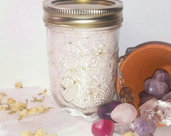 Heavenly Dreams Jasmine and Chamomile Bath Salts