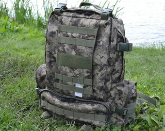 Army tactical and tourist backpack