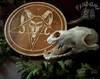 Altar pentacle, Baphomet, Natural