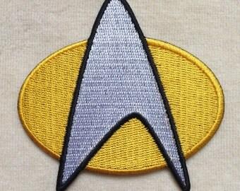 Star Trek Logo Iron On Patch