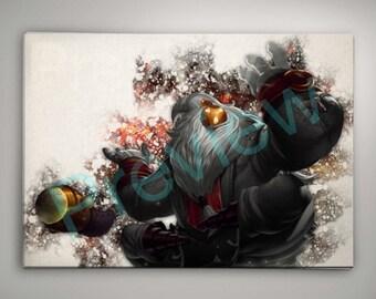 League of Legends Bard, League of Legends Poster, League of Legends Watercolor, League of Legends Wall Decor