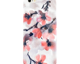 Watercolor Phone Case, Floral iPhone 7 Case, iPhone 7 Plus Case, iPhone SE Case Samsung Galaxy S7 Case Samsung Galaxy S6 Case