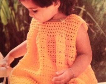 Crochet Baby Girl Dress Size 12-24 months