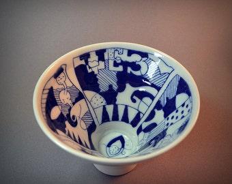 Porcelain mug JAZZ-2