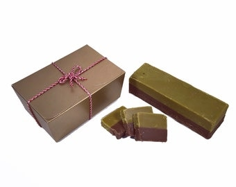 Mint Chocolate Handmade Fudge 300g Gift Box