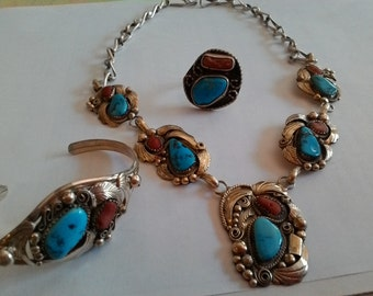 TURQUOISE CORAL VINTAGE