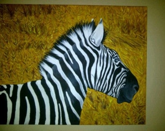 Zebra On The Plains