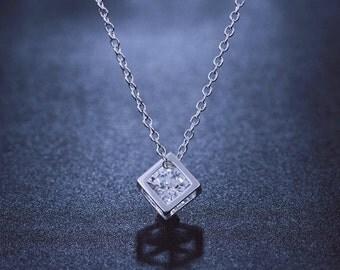 Beautiful Cubed Pendant