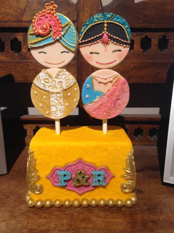 wedding cake indian toppers custom made indian wedding cake topper 22974
