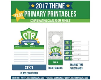 Primary 2017 Classroom Bundle Digital Download Pdf & Jpg Files