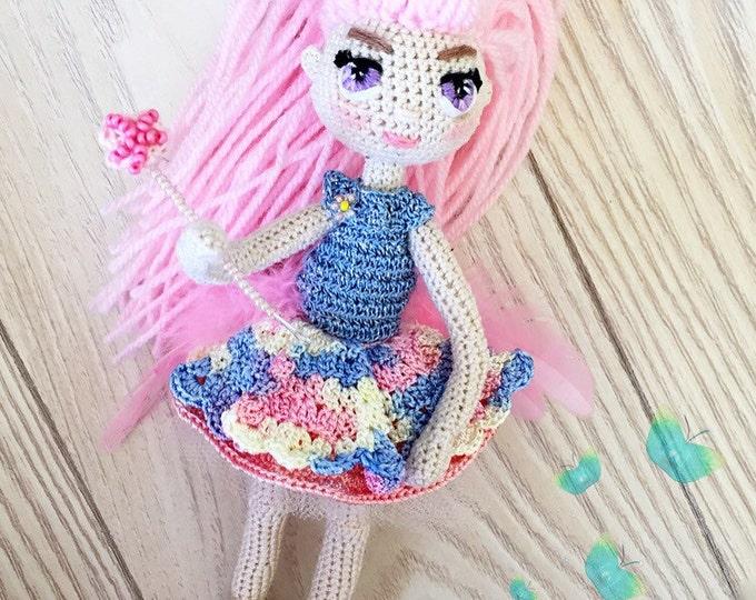 Amigurumi Crochet doll-amigurumi doll-crochet daisy
