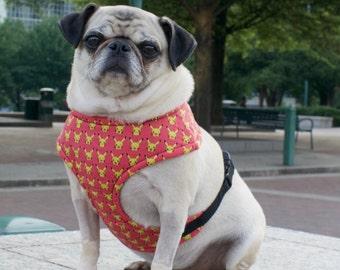 Pika Pink Small Dog Harness