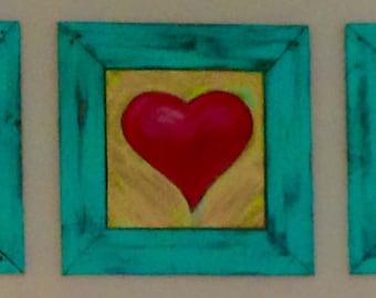 Large Heart Wall Art