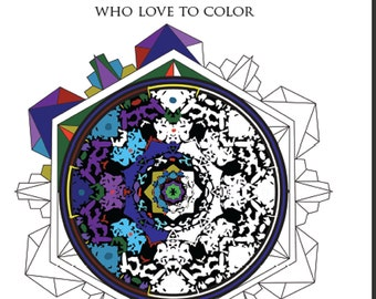 Enter the Center™ Coloringbook - For People of All Ages Who Love to Color