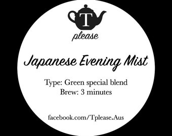 Japanese Evening Mist loose leaf tea
