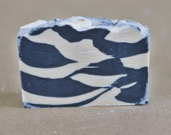 Charcoal & Cedar Beer Soap - Cold Process Soap, Shea Butter, Beer Soap, Vegan Soap, Palm Oil Free, All Natural Soap, Charcoal Soap