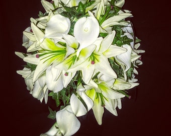 Lily Bouquet, artificial