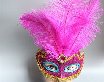 Feather Mask - 23