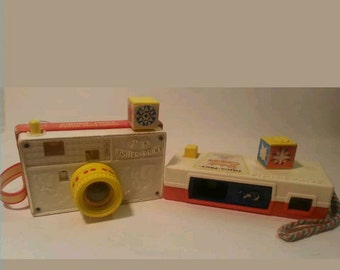 Fisher Price Vintage toy camera's