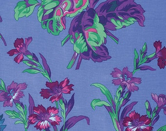 Kaffe Fassett collection, Anne Marie, Blue, 1/4 yard increments
