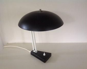 Office-/tafellamp. Hala Zeist. Black/white.