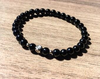 Children's Black Onyx Bracelet, Protection Bracelet