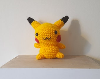 Crochet Pikachu - Amigurumi Pokemon