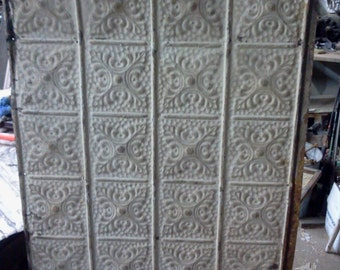 Antique Ceiling Tin Tile 2' x 4'