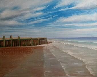 Beach , Waves and Sky