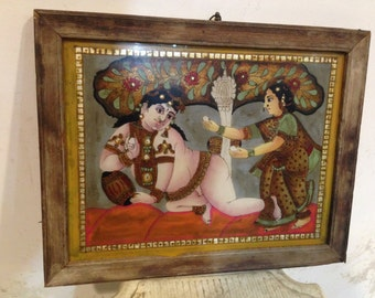 Indian Glass Painting