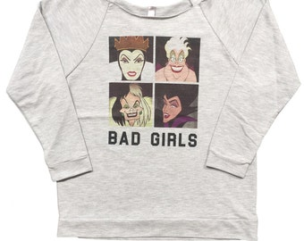 Disney Bad Girls Villan Women Sweater (S-2XL)