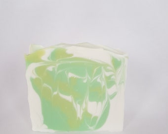 Coconut & Lime Handmade Soap