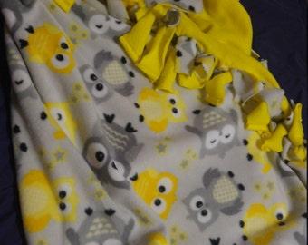 No Sew Custom Blanket