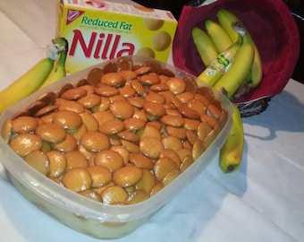 Sweet Banana Pudding