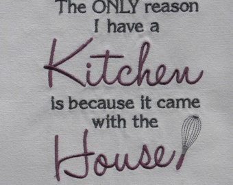 Kitchen Came with House