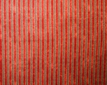 """Steampunk fabric: Victorian Dream Steampunk Springs in Rows Red fabric 100% cotton Fabric by the yard 36""""x44"""" (K86)"""
