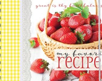 Strawberries Recipe Book