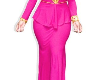 Trendy long dress Abaya