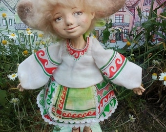 Fidget art doll