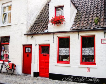 Red Door, Bruges Belgium